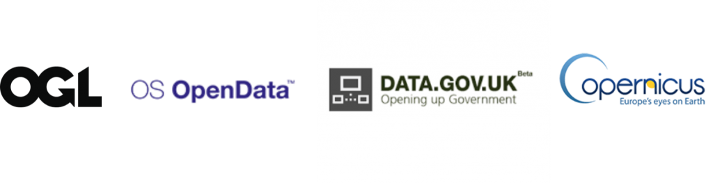 open data portals licences and logos