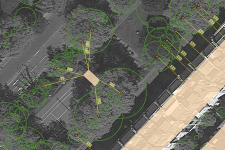 Tree canopy mapping